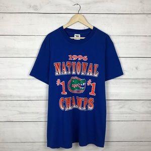Vintage 1996 Florida Gators Champions T-Shirt
